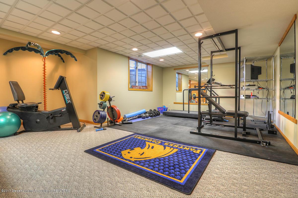 1145 River Oaks Dr - basement weight room - 14