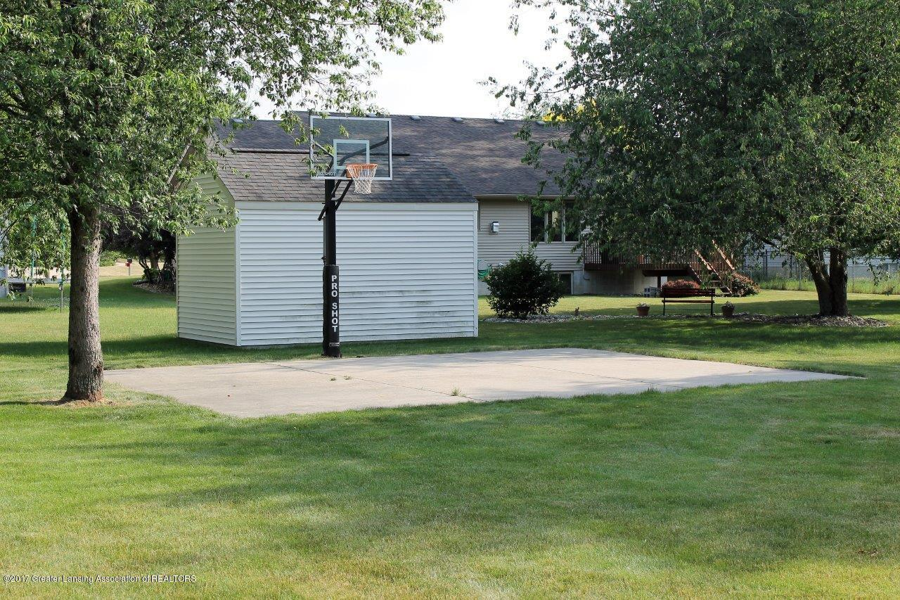 5855 MacMillan Way - 18. Rear Yard Basketball Court - 18
