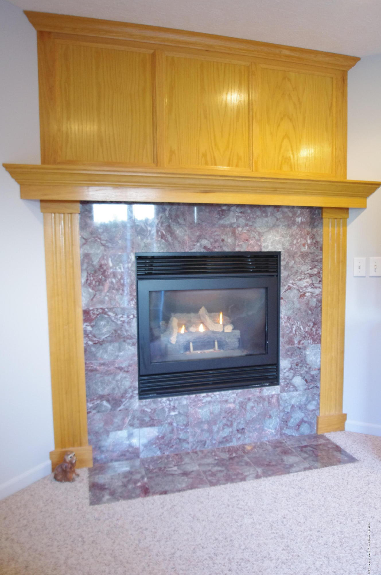 5545 S Krepps Rd - Lower Level Fireplace - 34