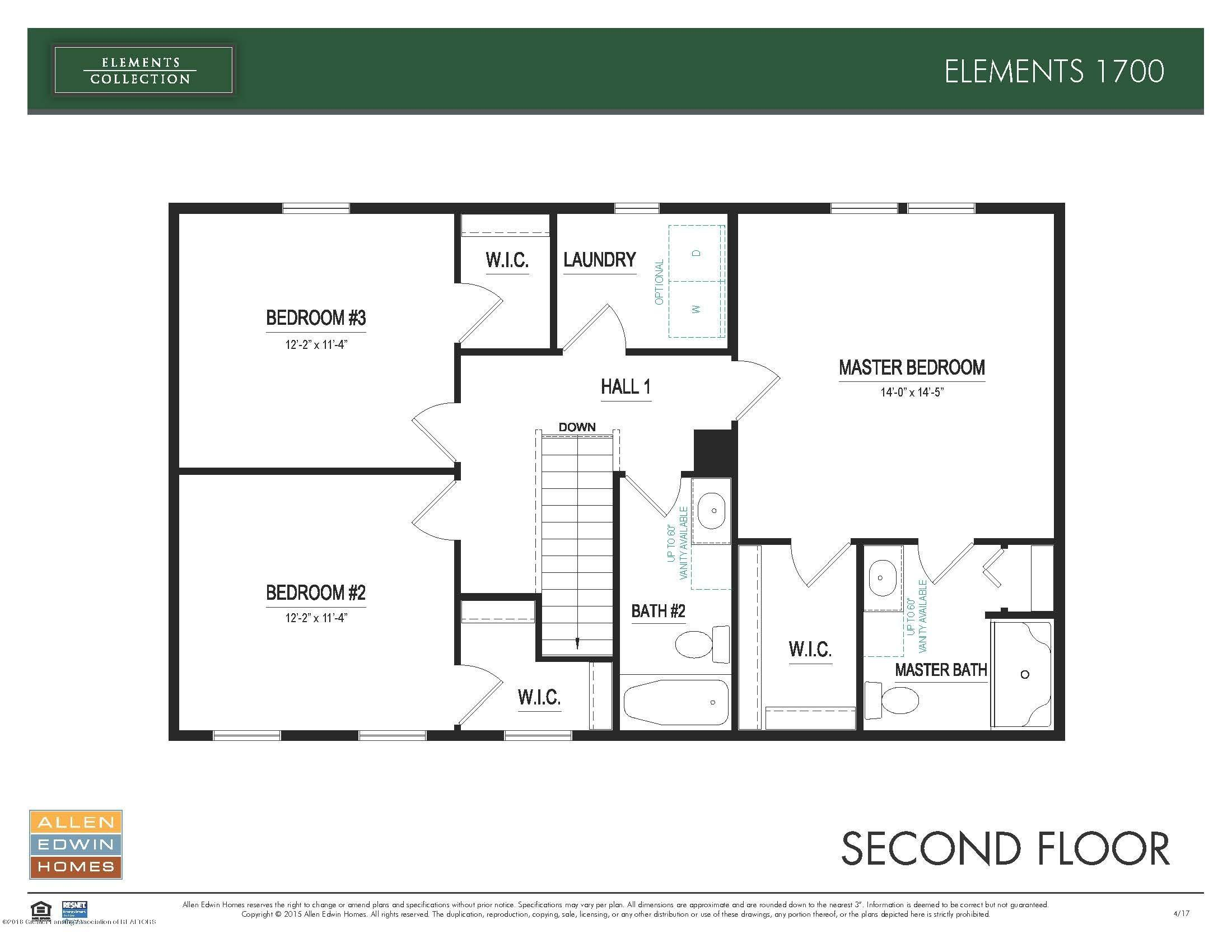 3536 Fernwood Ln - Elements 1700 Second Floor - 15