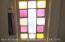 Original, stain glass, lead window