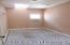 This 2nd floor bedroom would make a great office space or a custom walk in closet