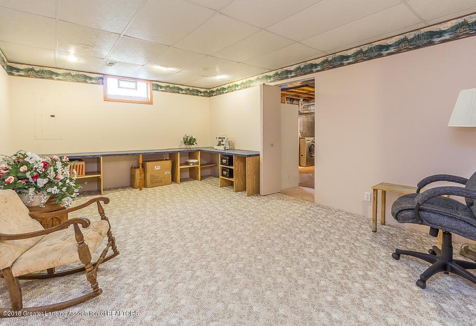 4980 S Francis Rd - Basement rec room - 23