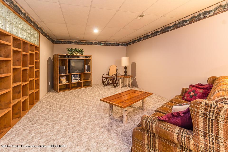 4980 S Francis Rd - Basement rec room - 22