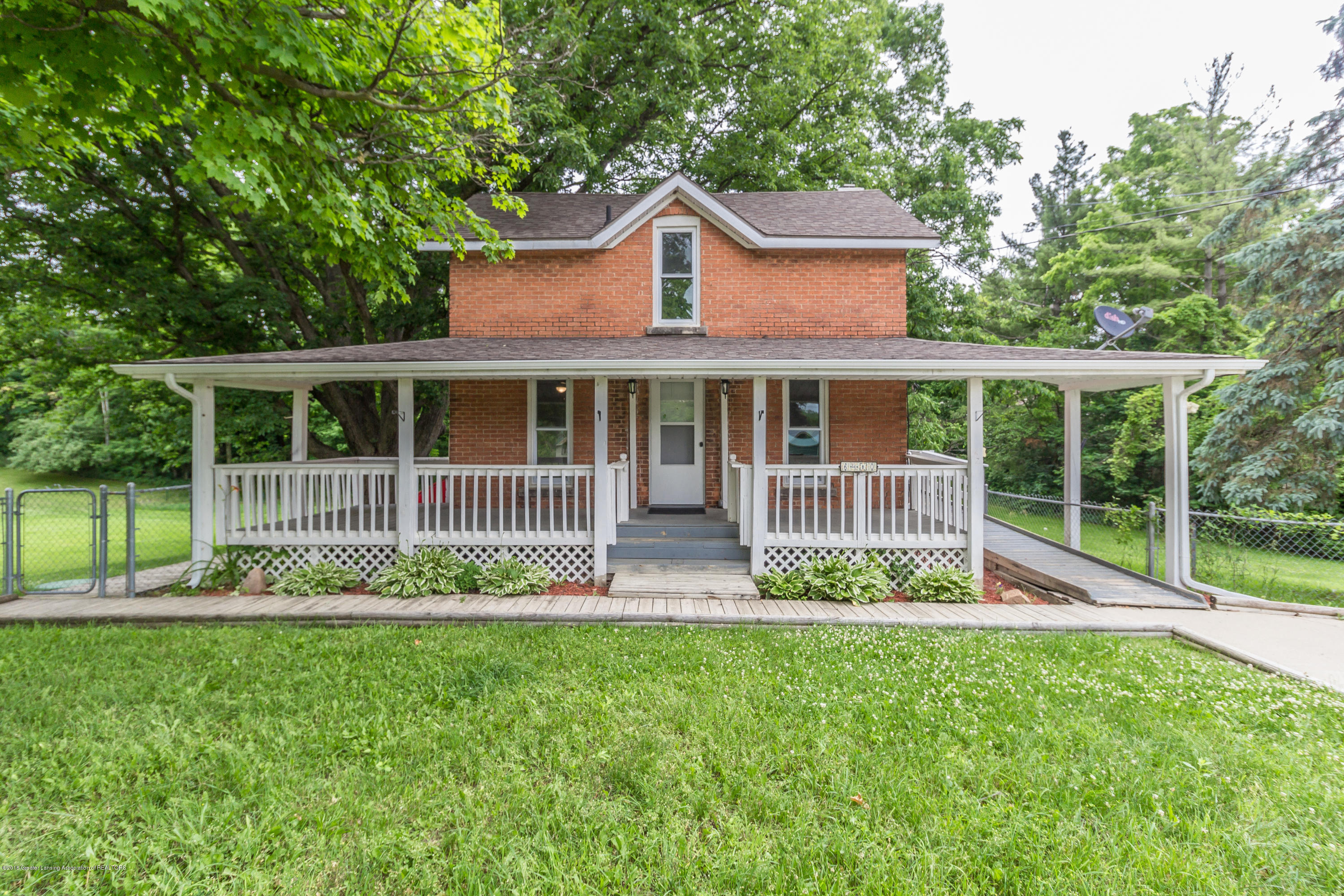6410 W Eaton Hwy - Front of House - 1