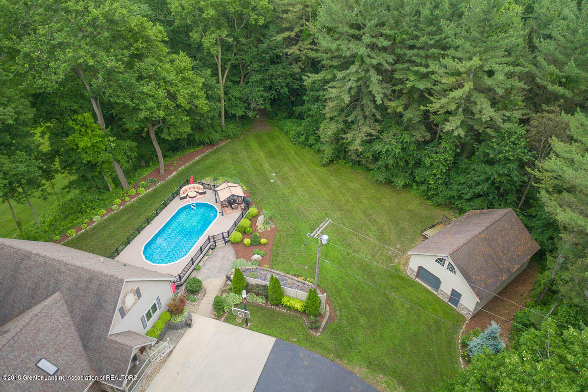 1781 S Michigan Rd - 1781 S. Michigan Rd. Aerial Pool view 1 - 13