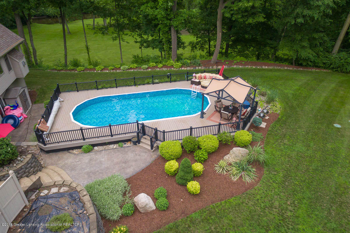 1781 S Michigan Rd - 1781 S. Michigan Rd. Aerial Pool view 4 - 8