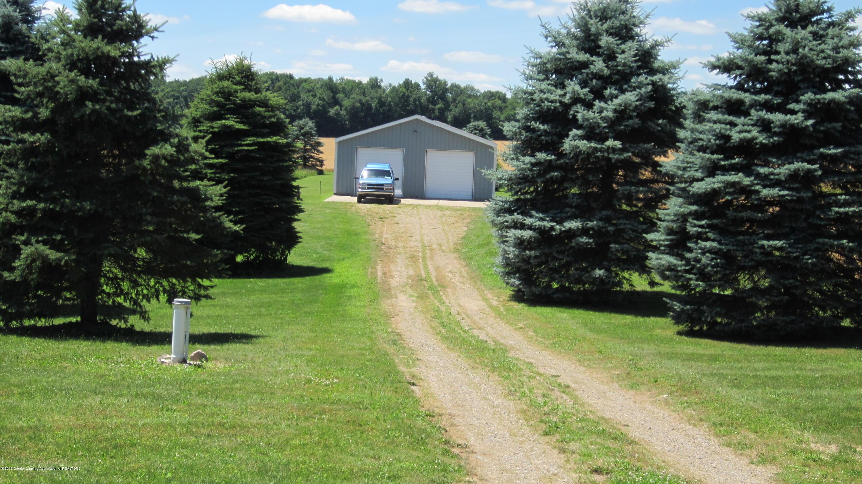 5384 S Stine Rd - Back drive to barn - 5