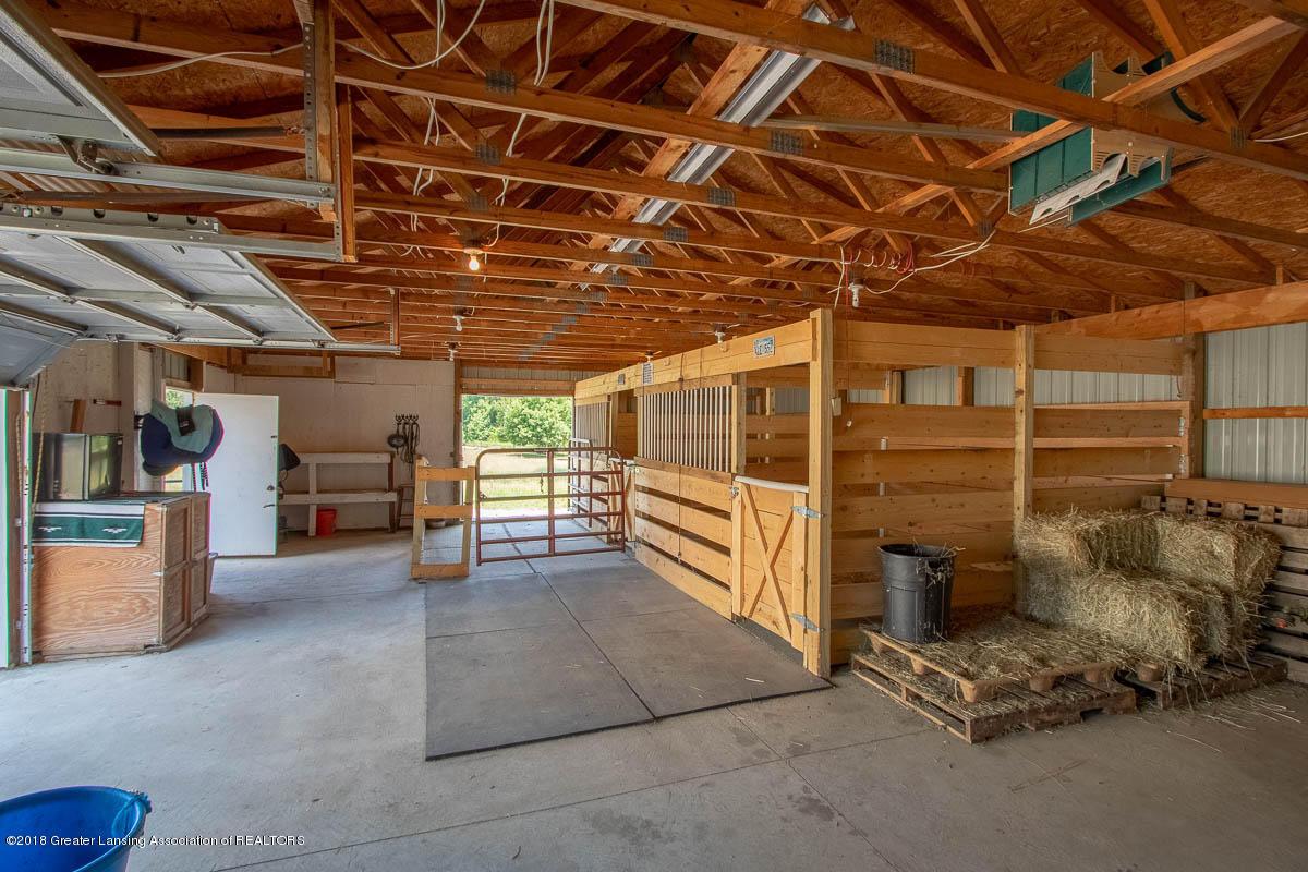 7511 Herbison Rd - Barn Interior View - 33