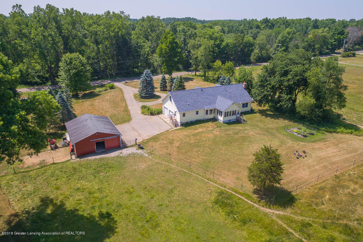 7511 Herbison Rd - Exterior Aerial View - 36