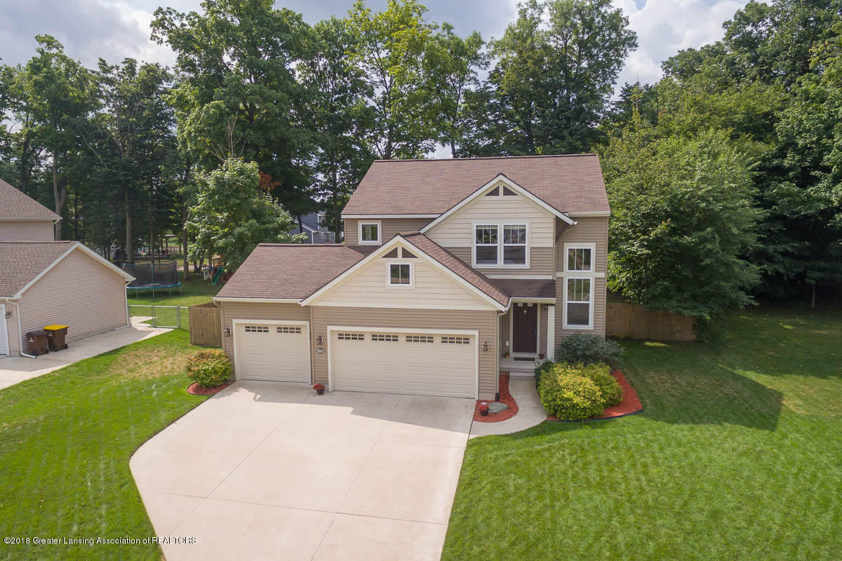 8603 Wheatdale Dr - Aerial View - 2