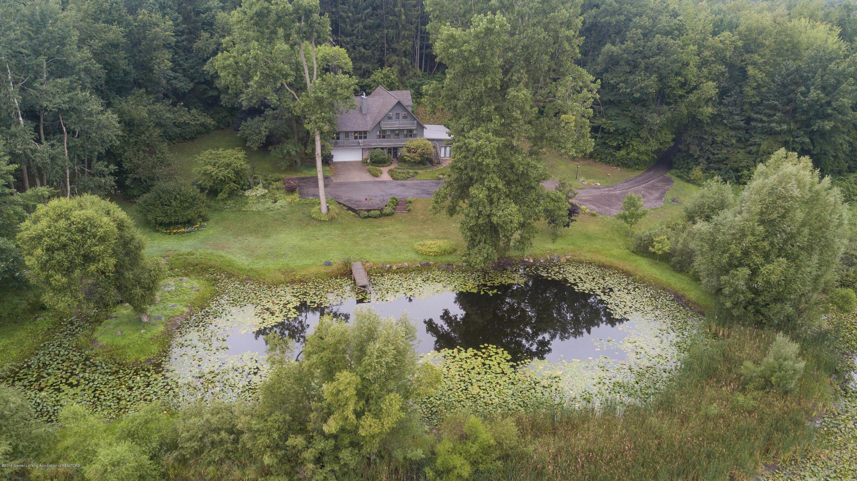 6110 Clark Rd - DJI_0071 Drone including pond - 2