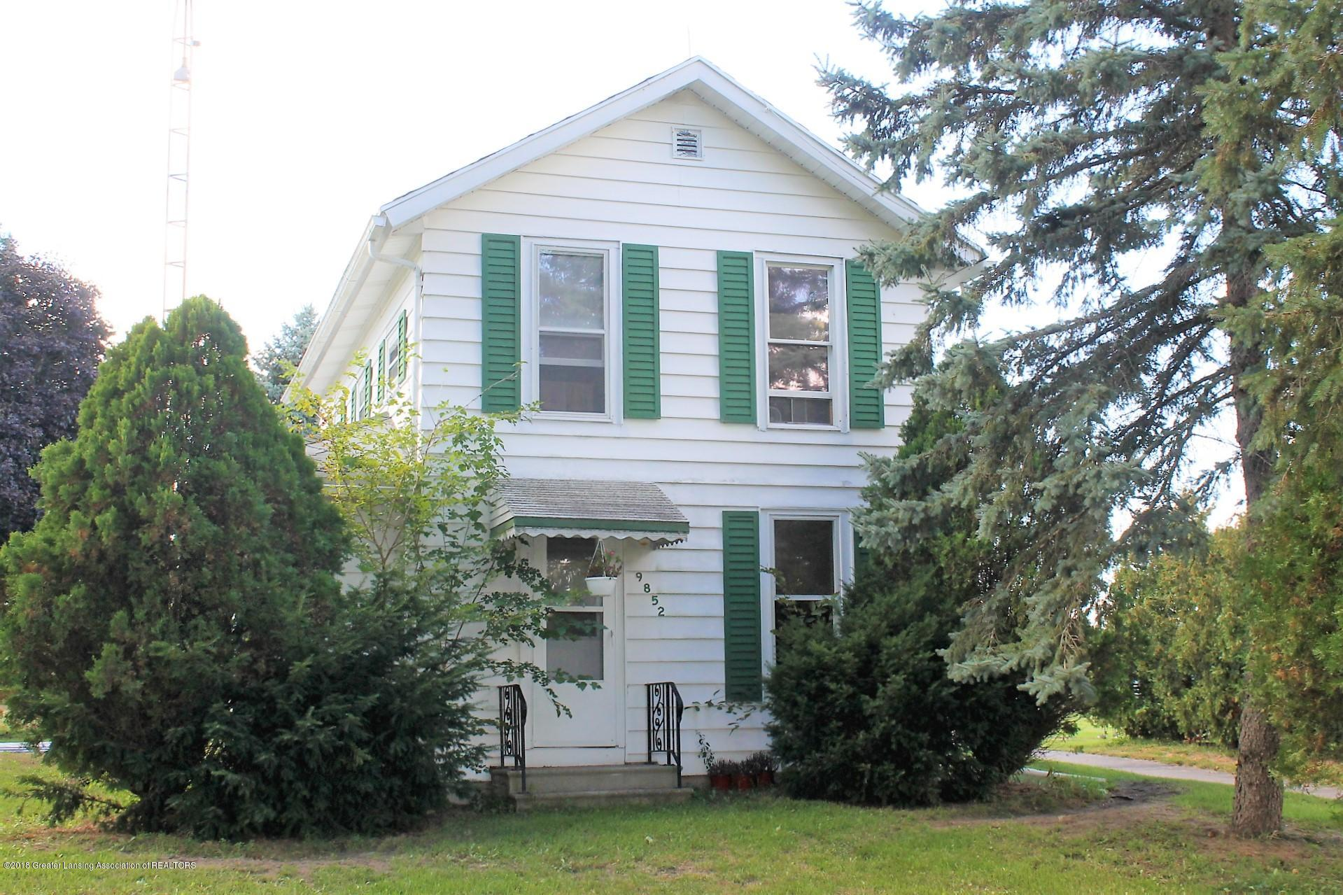 9852 Brooklyn Rd - Ext front - 1