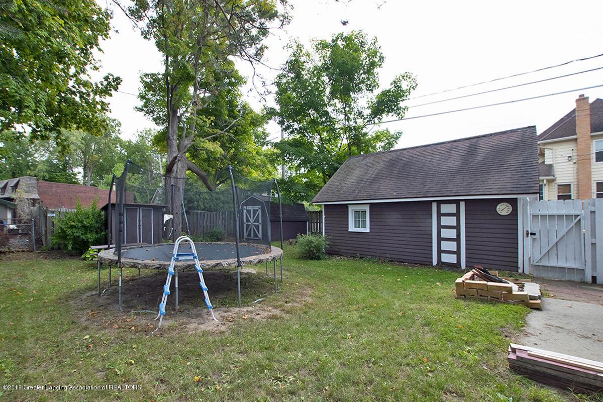 109 S Cedar St - 109 S Cedar- Backyard and Garage - 24