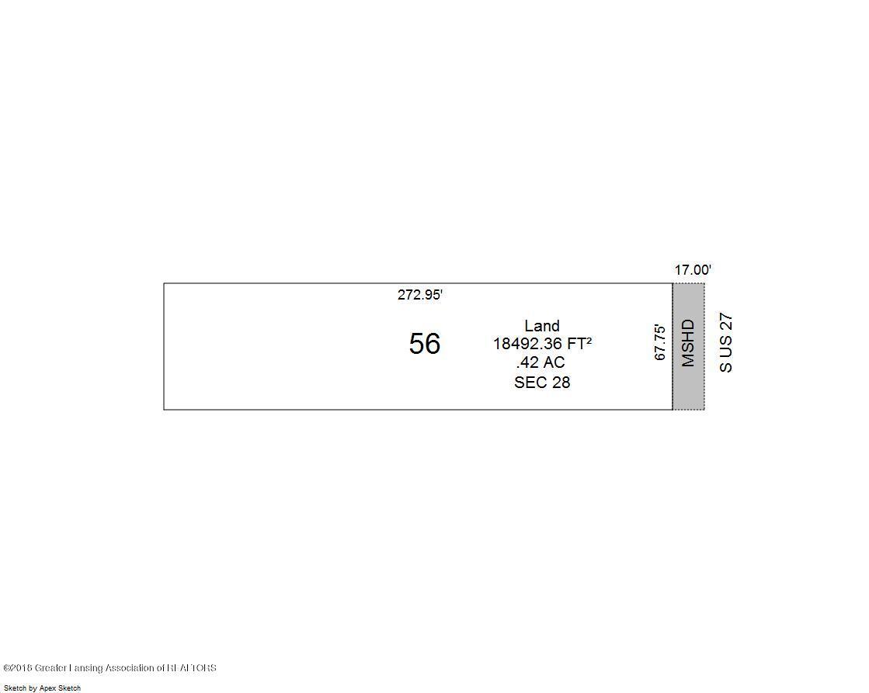 15950 Old U.S. 27 - sketch of property facing 27 - 1