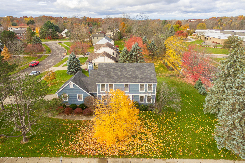 3981 Breckinridge Dr - Front Aerial View - 3