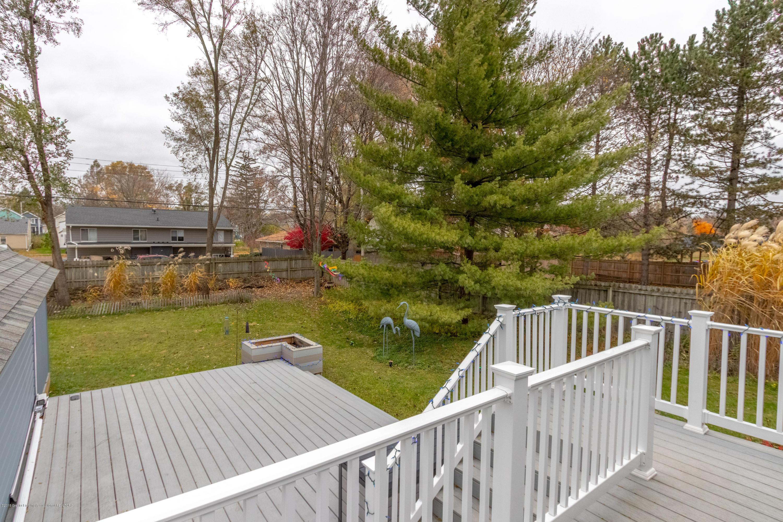 619 N Hagadorn Rd - Deck View - 21