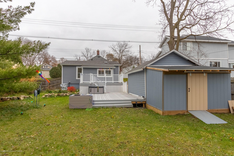 619 N Hagadorn Rd - Back Yard - 23