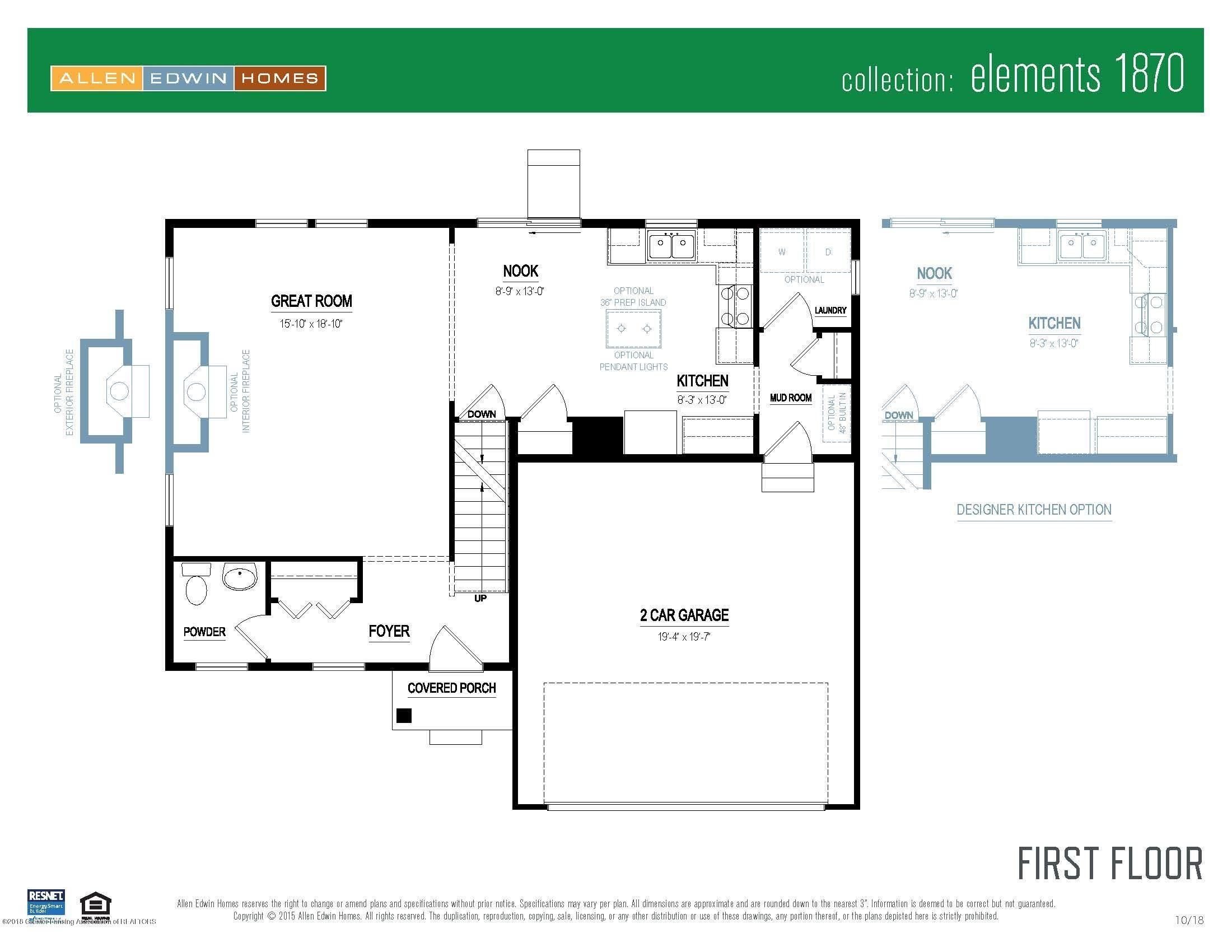 206 Ayla Drive - Elements 1870 V8.0a First Floor - 18