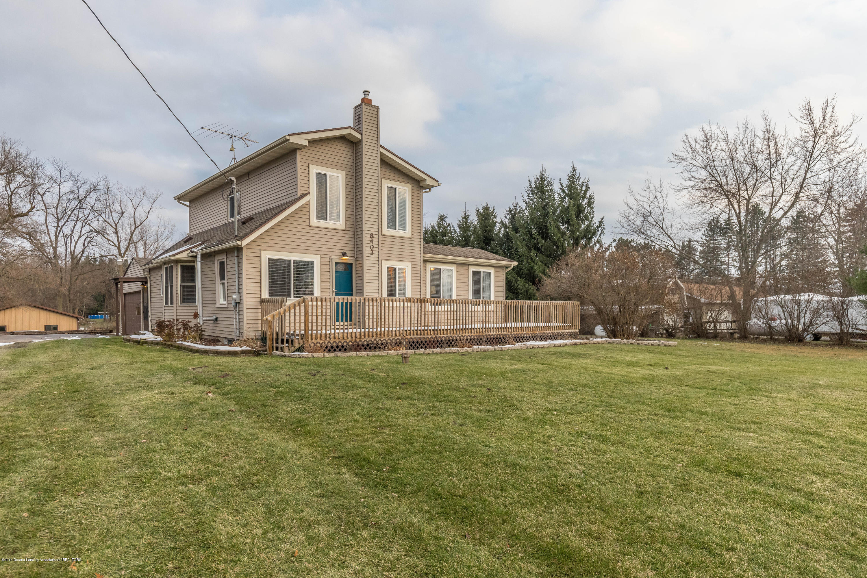 8403 Loomis Rd - Front - 1