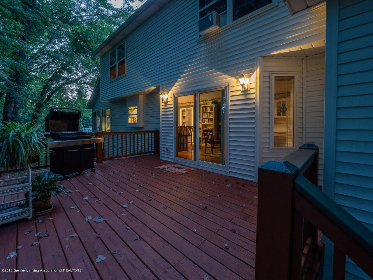4865 Ohchi Ct - Back Deck Night - 8