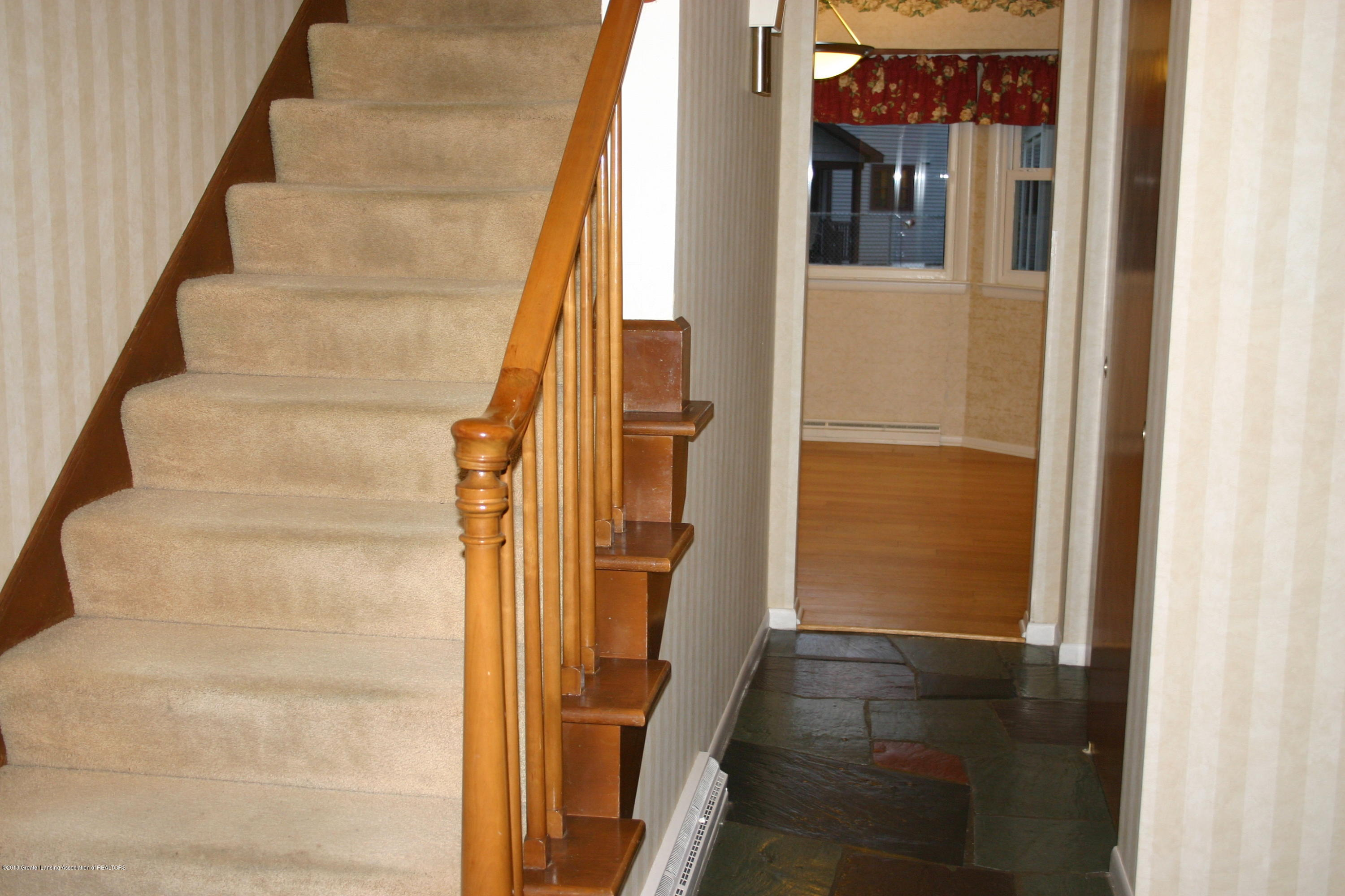 1927 Vassar Dr - Hall and Stairway, look at the flooring - 22