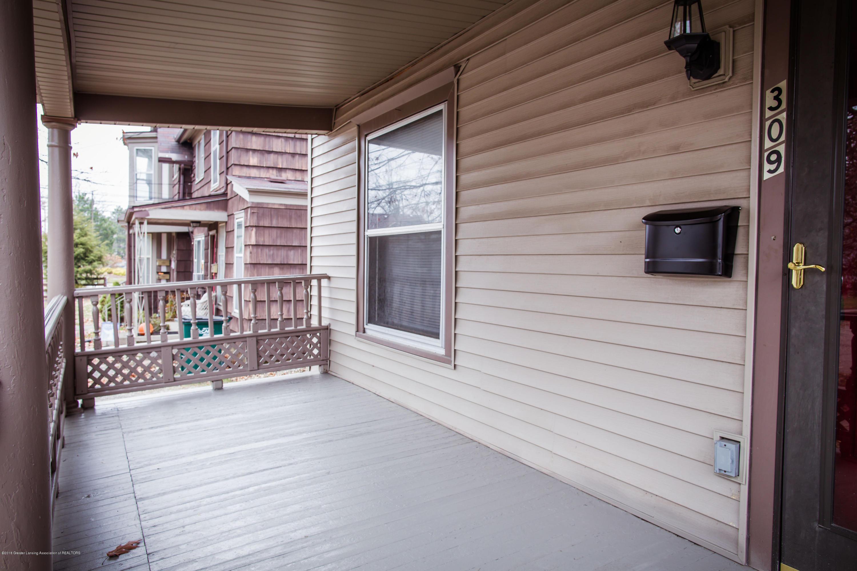 309 W Lapeer St - Porch - 2