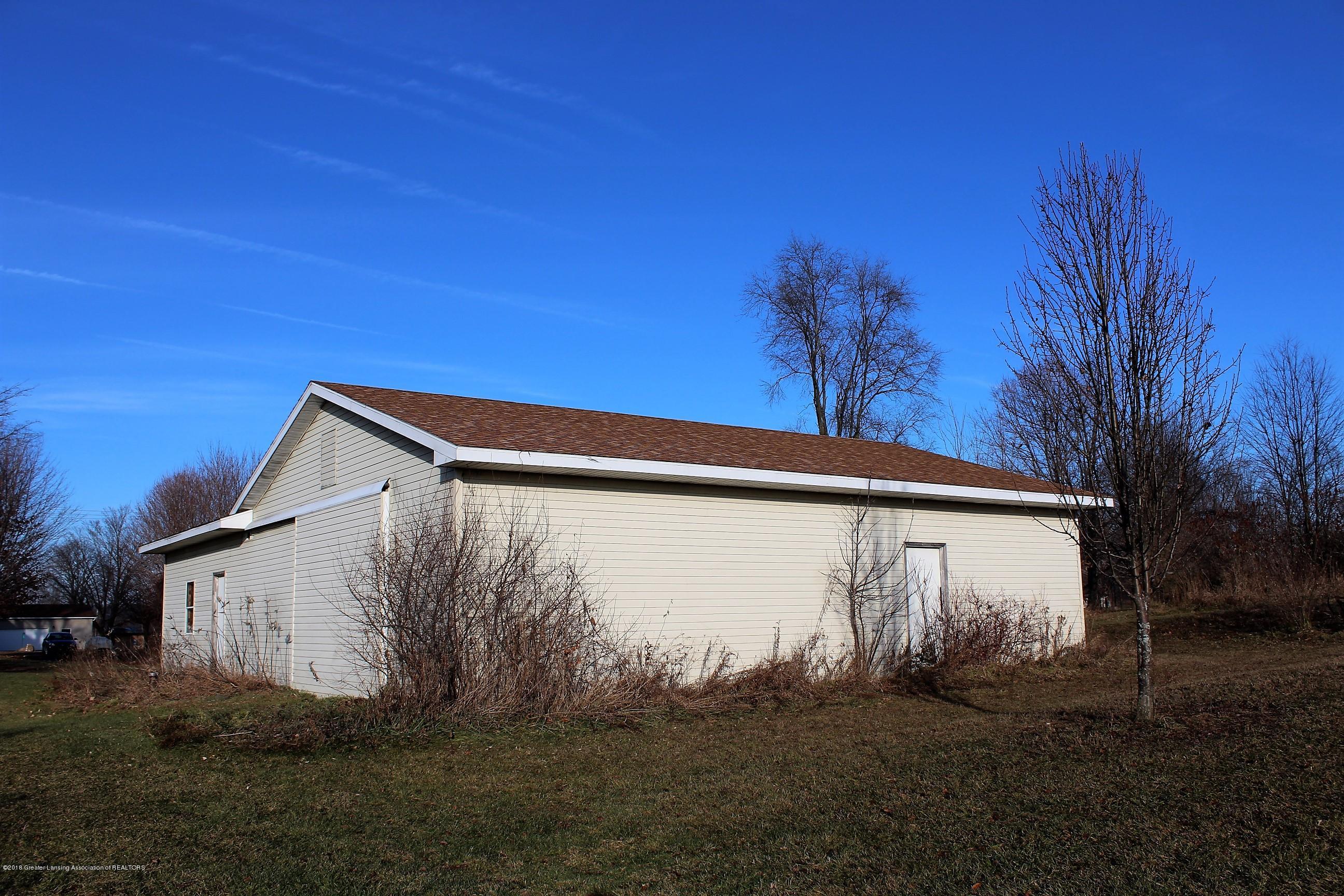 5552 Long Hwy - Back of Pole Barn - 5