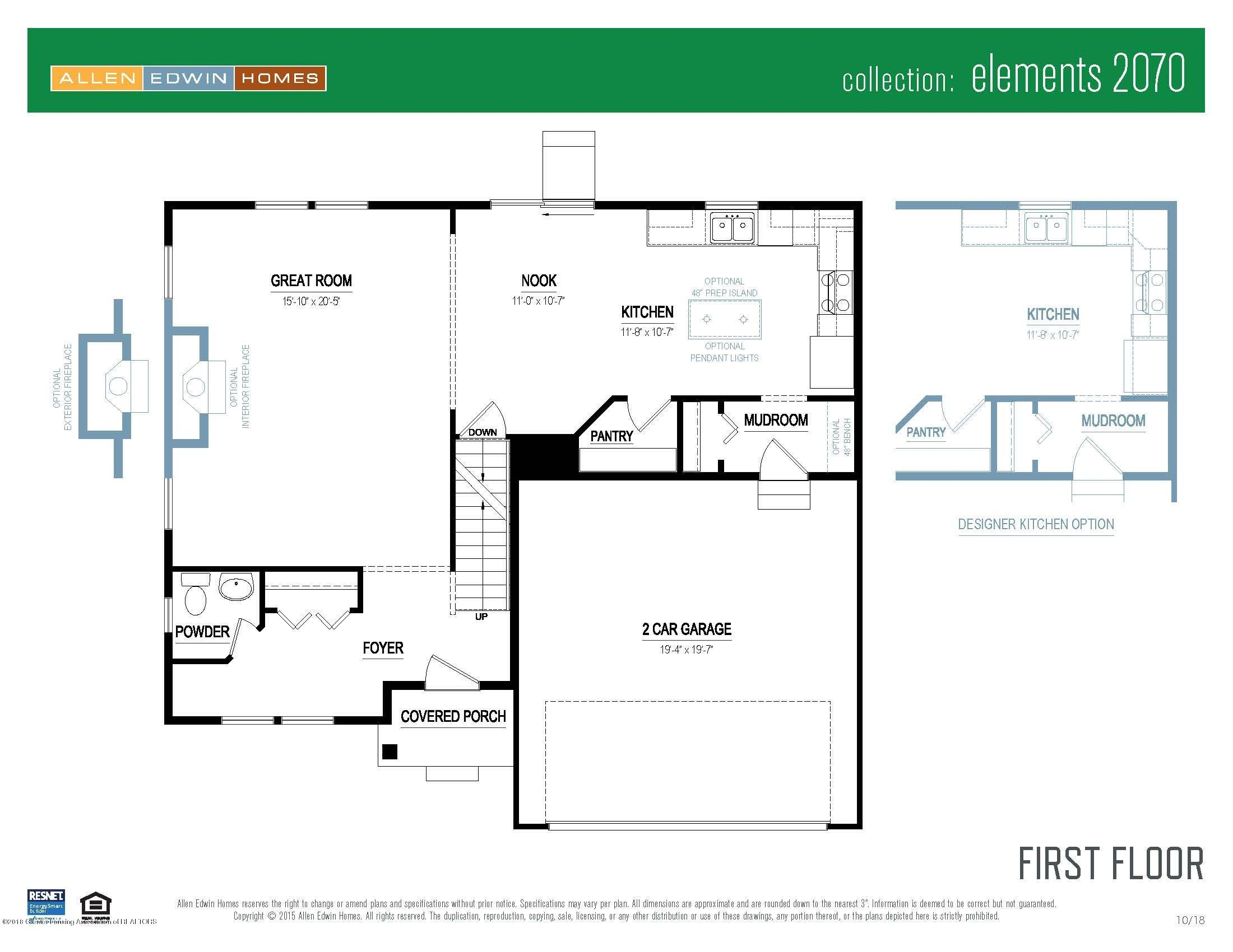 1780 Merganser Dr - Elements 2070 V8.0a First Floor - 20