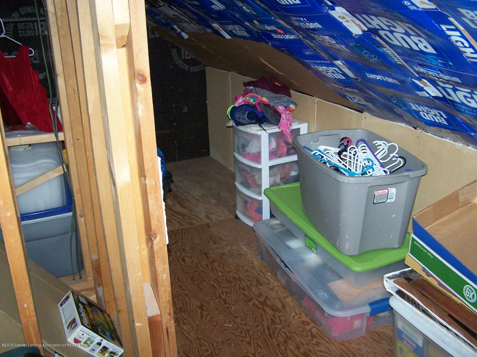805 Raeburn Rd - storage room upstairs - 17