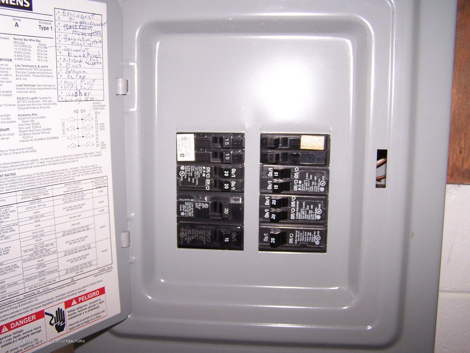 805 Raeburn Rd - Electrical Panal - 33