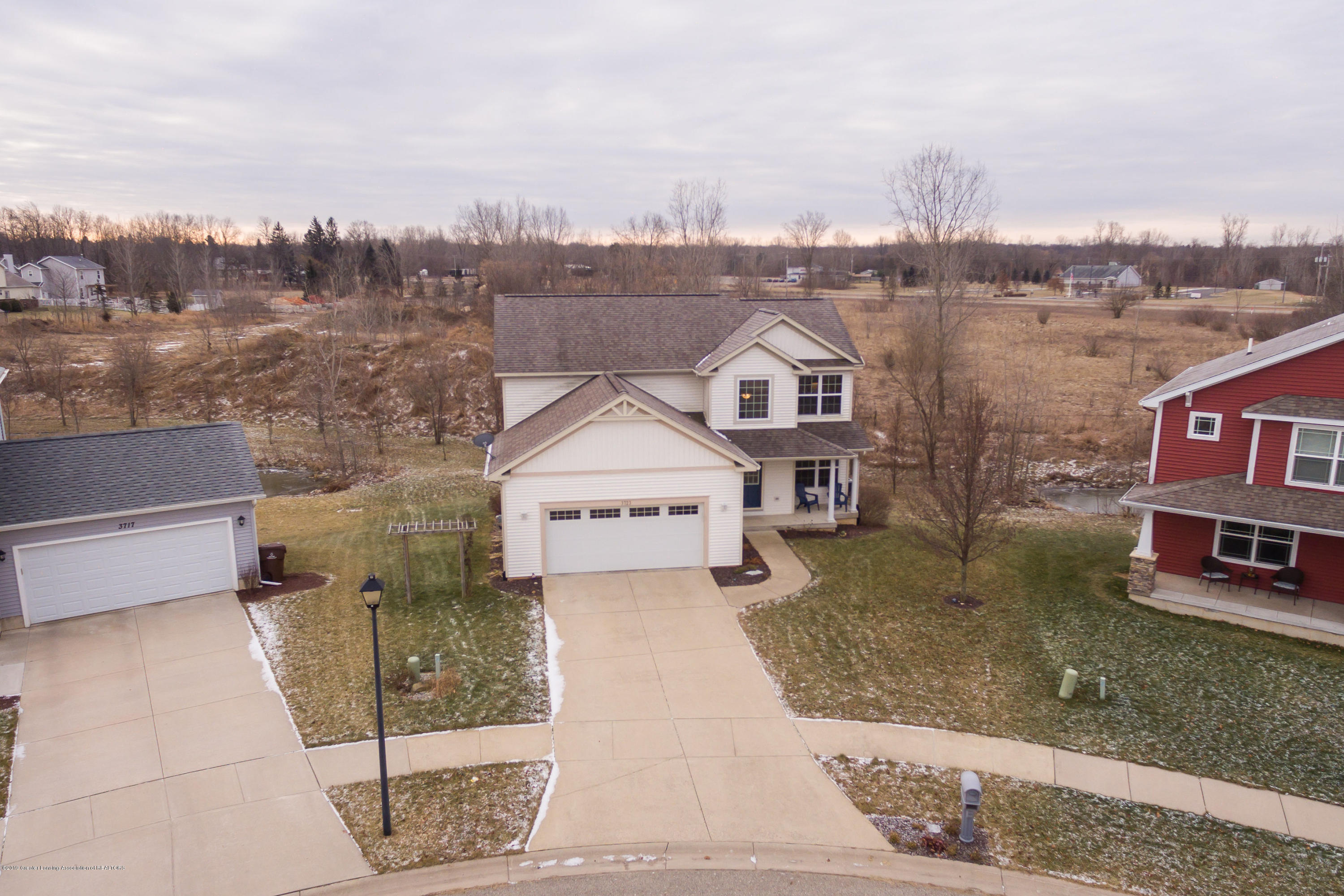 3723 Meijer Ct - Aerial Front  View - 46