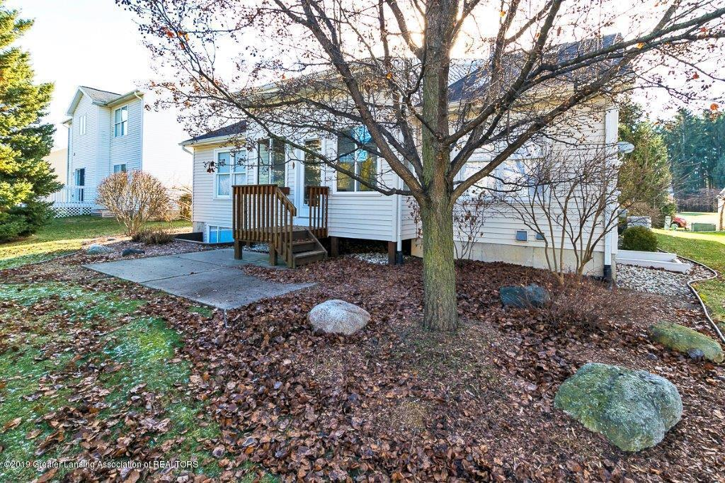 5895 Coleman Rd - 5895 Coleman Rd back yard and exterior v - 2