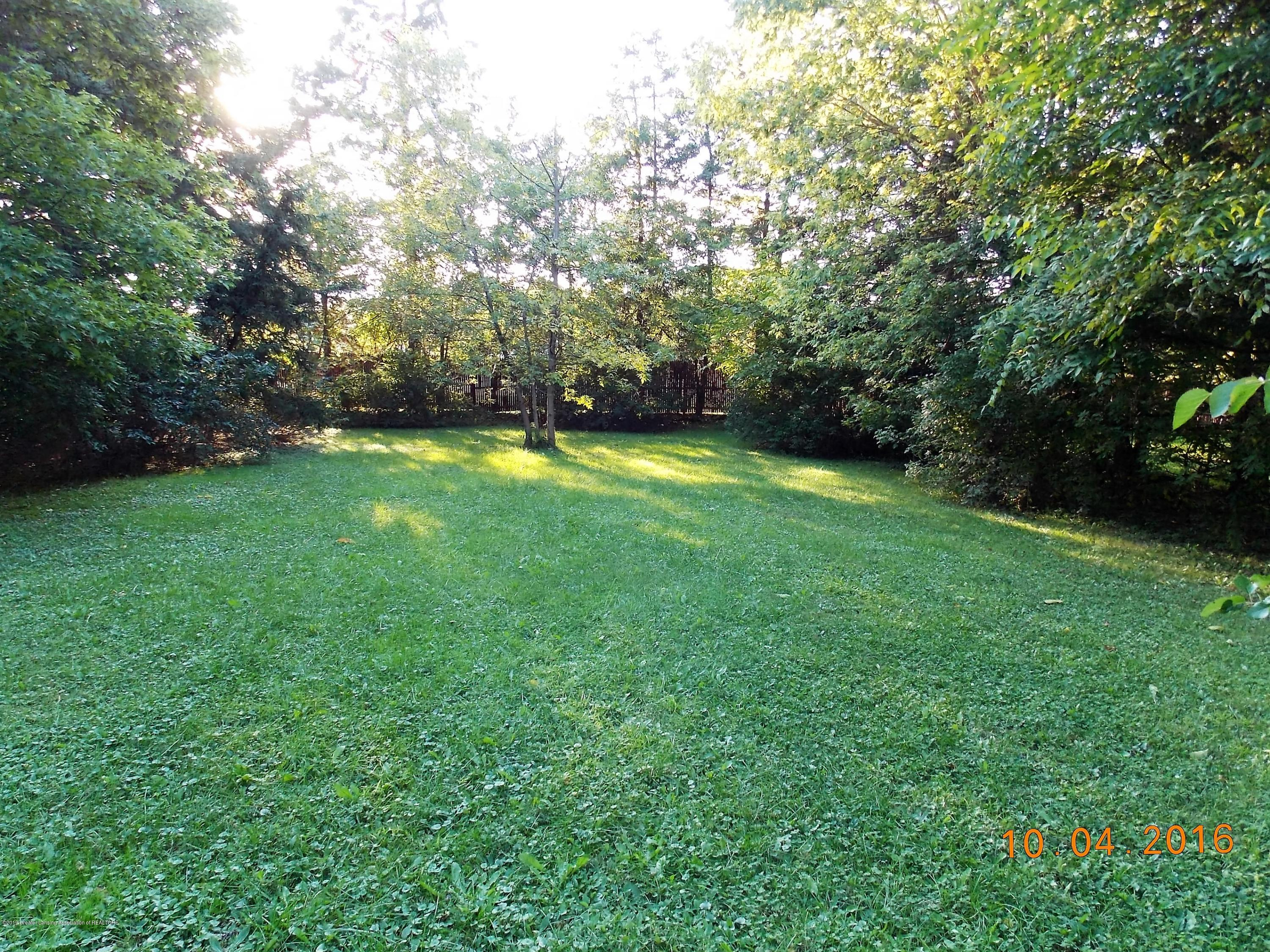 5300 Balzer St - back lot is divided with privacy fence - 19