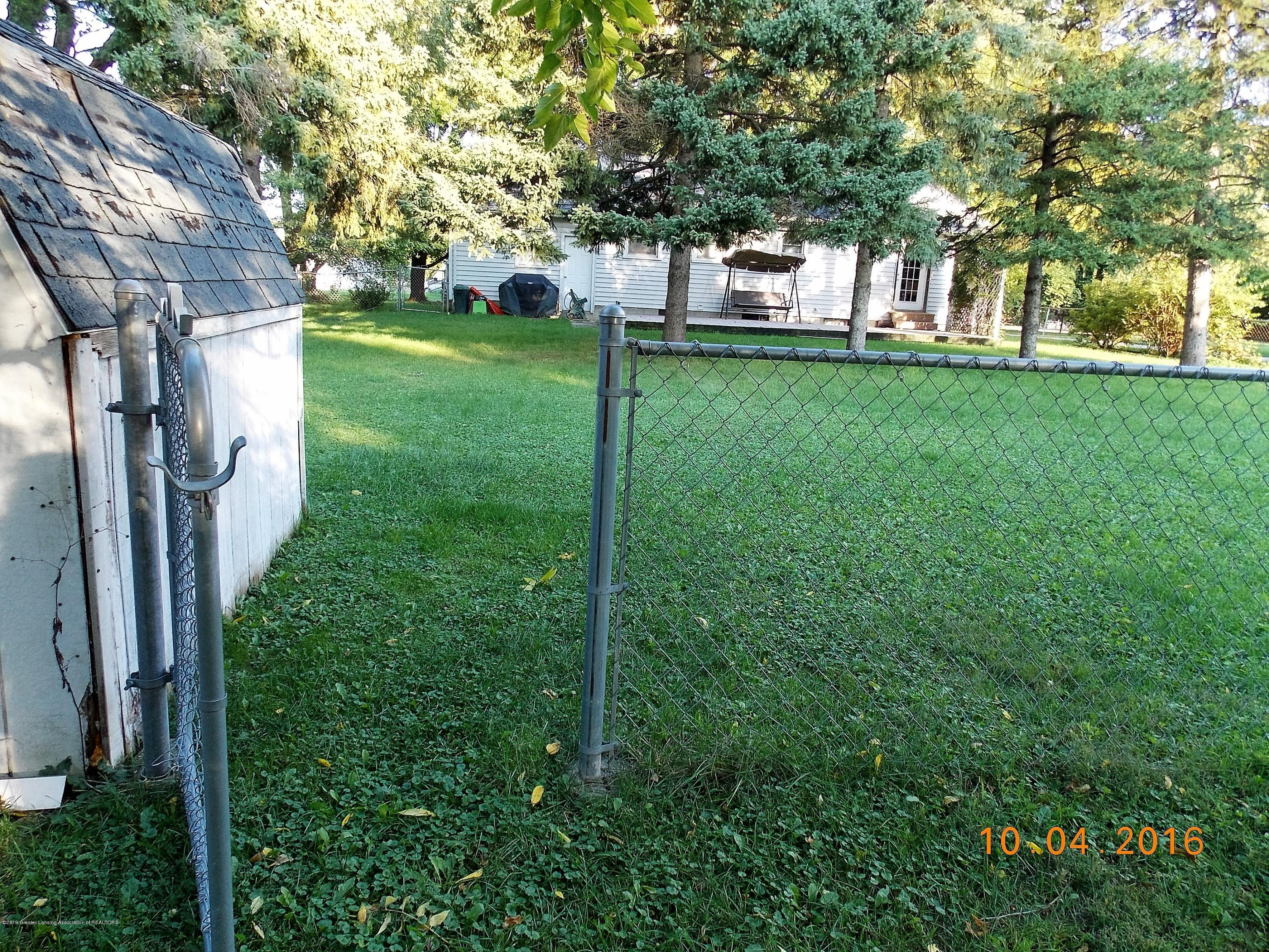 5300 Balzer St - fence with gate access to whole lot and - 18