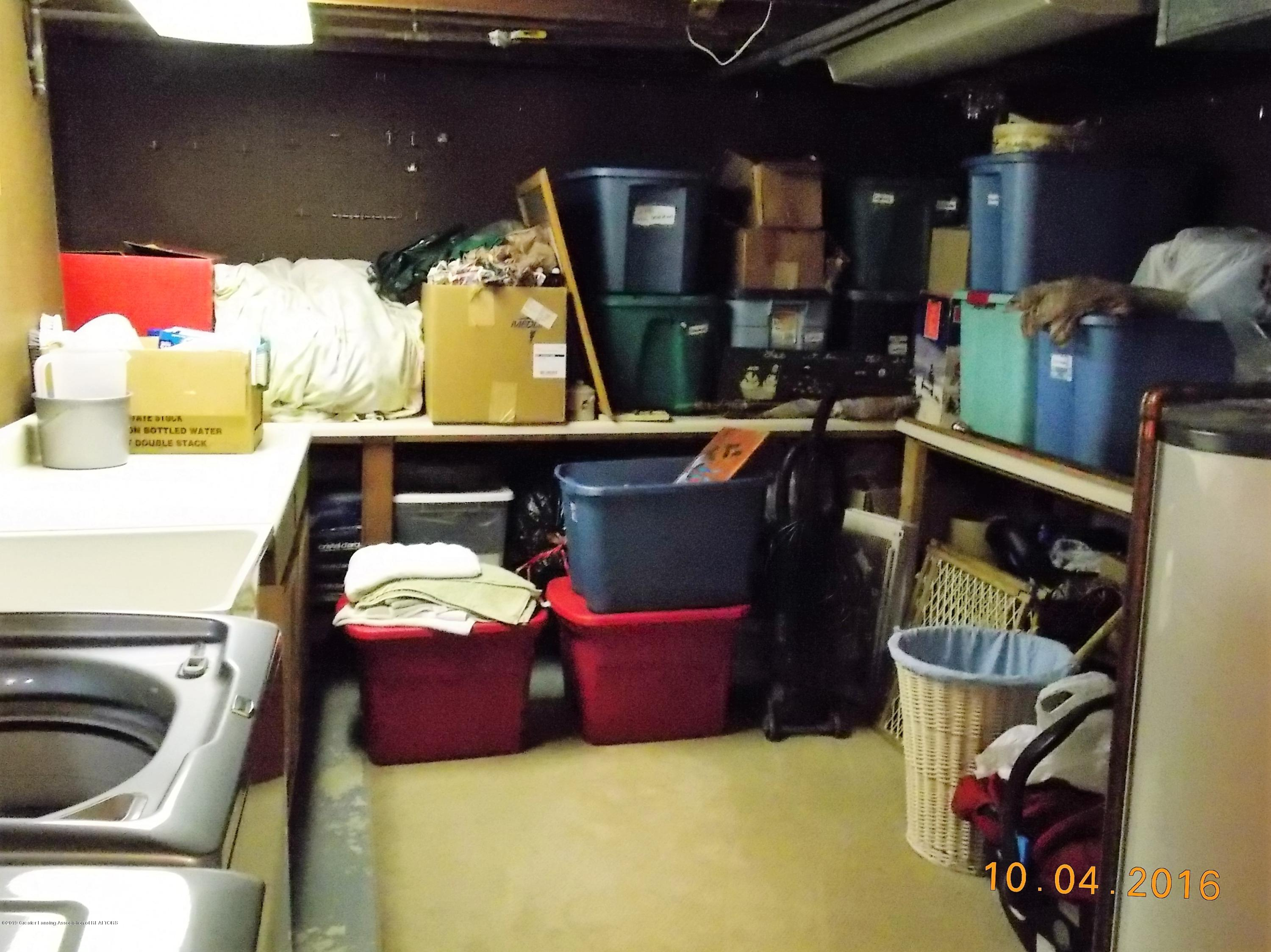 5300 Balzer St - Laundry area with lots of storage and co - 16