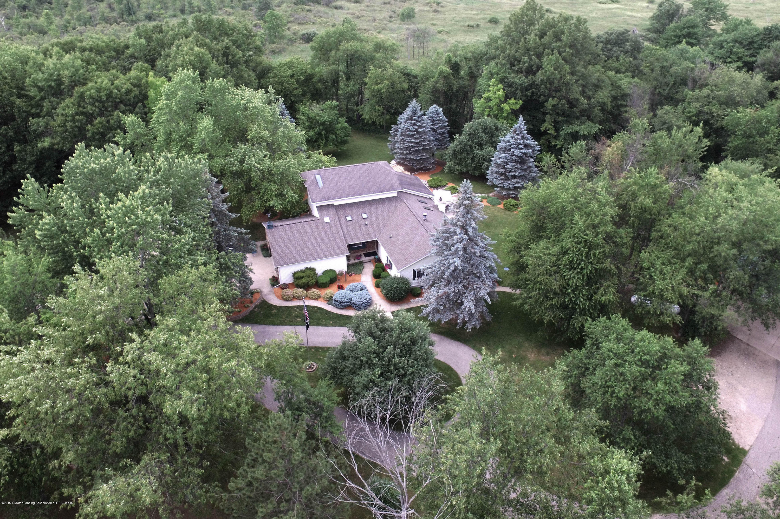 7575 E Howe Rd - Aerial front - 3