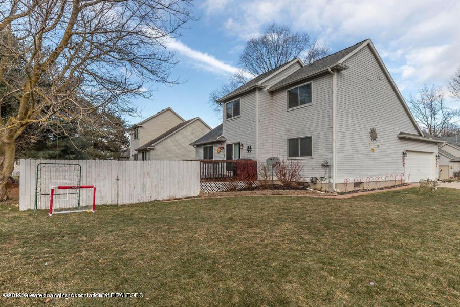 361 Winding River Cove - side yard - 35