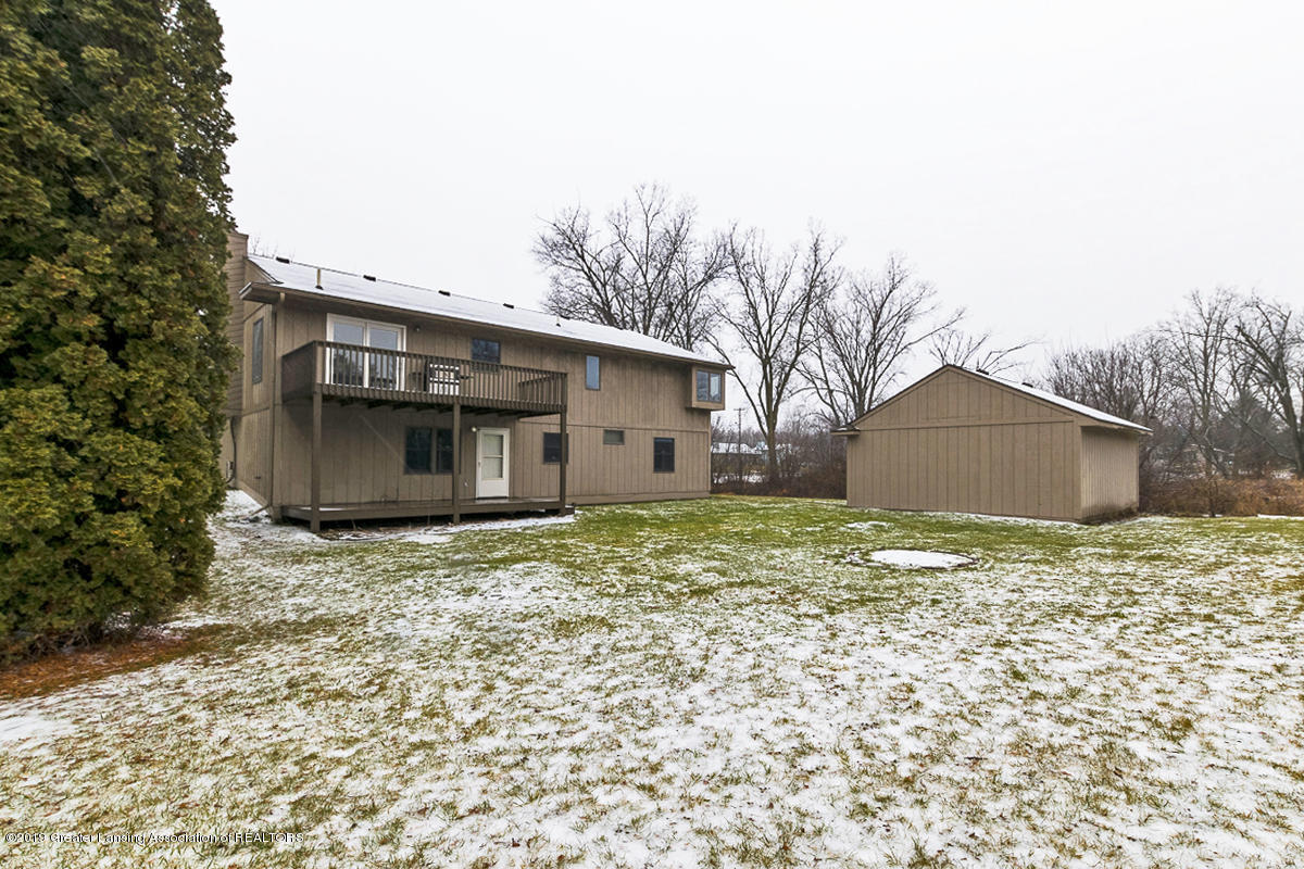1848 W Clark Rd - Back View - 25