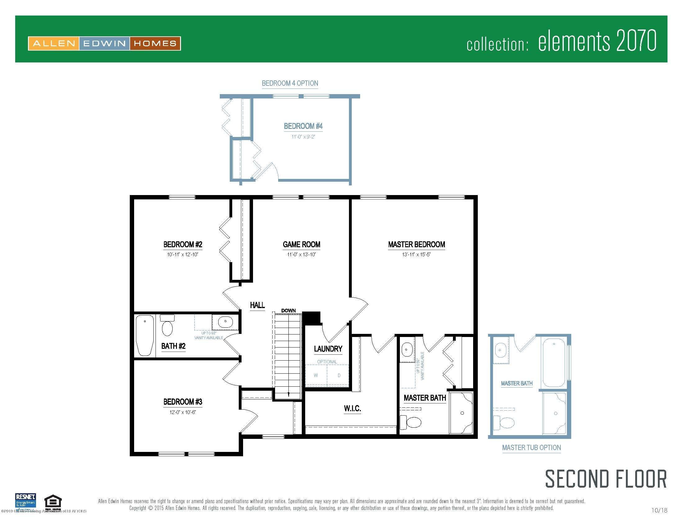 1136 River Oaks Dr - Elements 2070 V8.0a Second Floor - 20