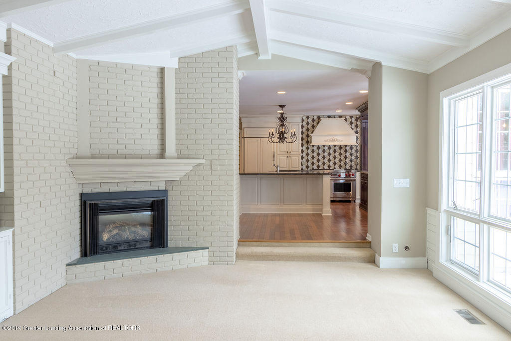 1456 Meadowbrook Ln - family rm fireplace - 18