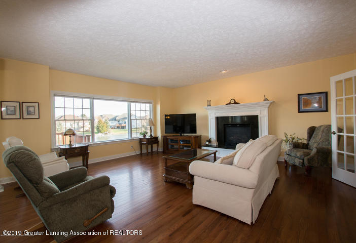 12705 Warm Creek Dr - Beautiful Living Room w/ Gas Fireplace - 7