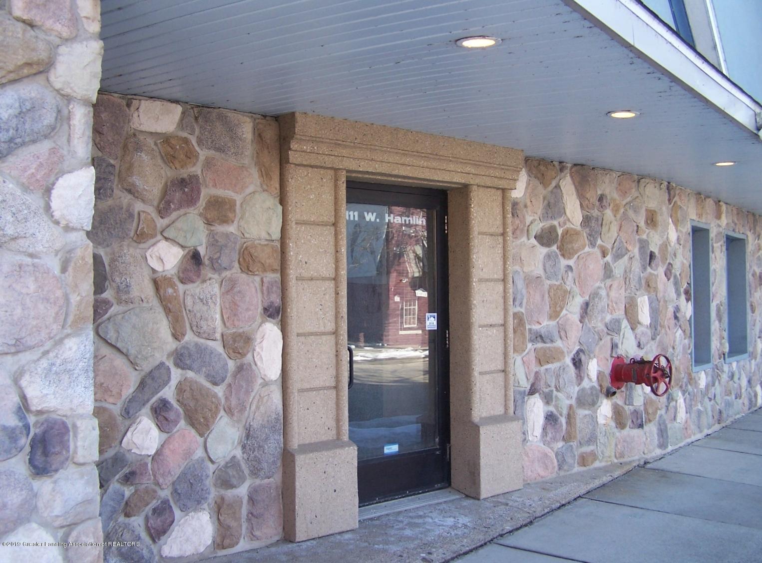 111 W Hamlin St - front door - 2