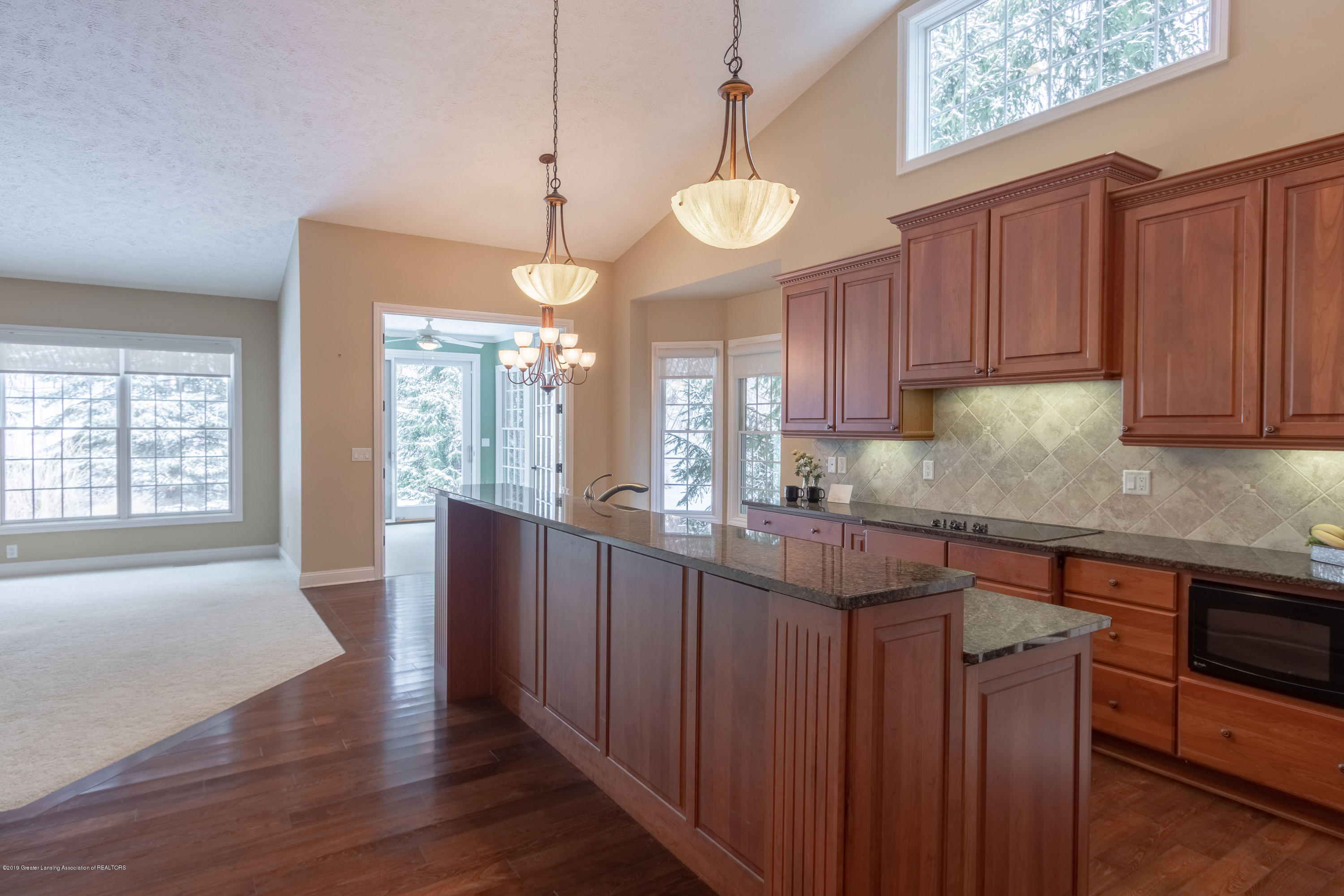 6153 Graebear Trail - Kitchen open to living room - 10