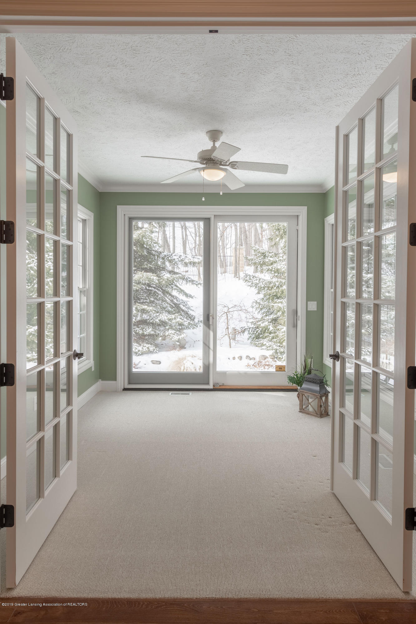 6153 Graebear Trail - French doors to sunroom - 20