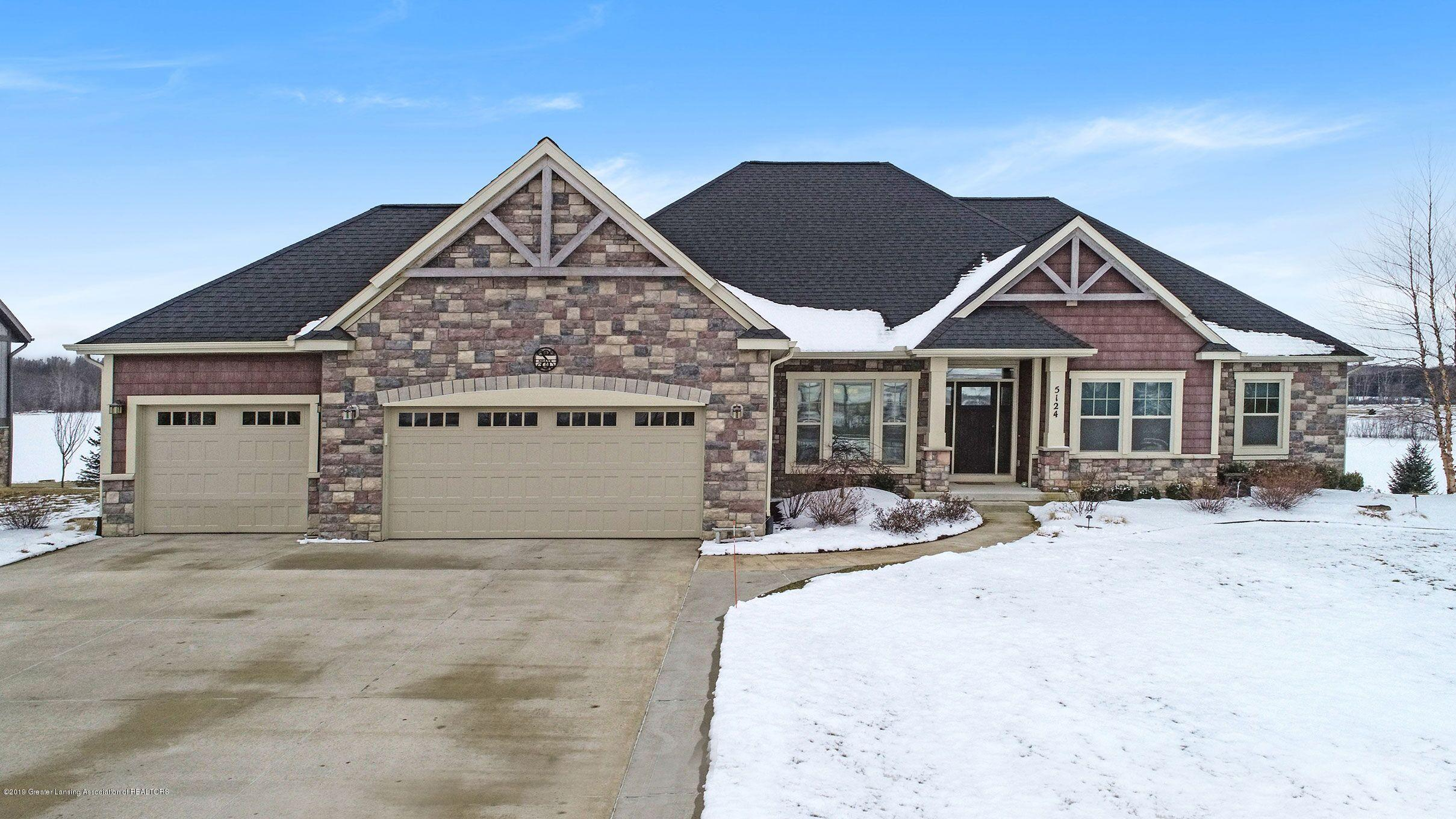 5124 Carl's Ridge Dr - Front Exterior of Home - 1