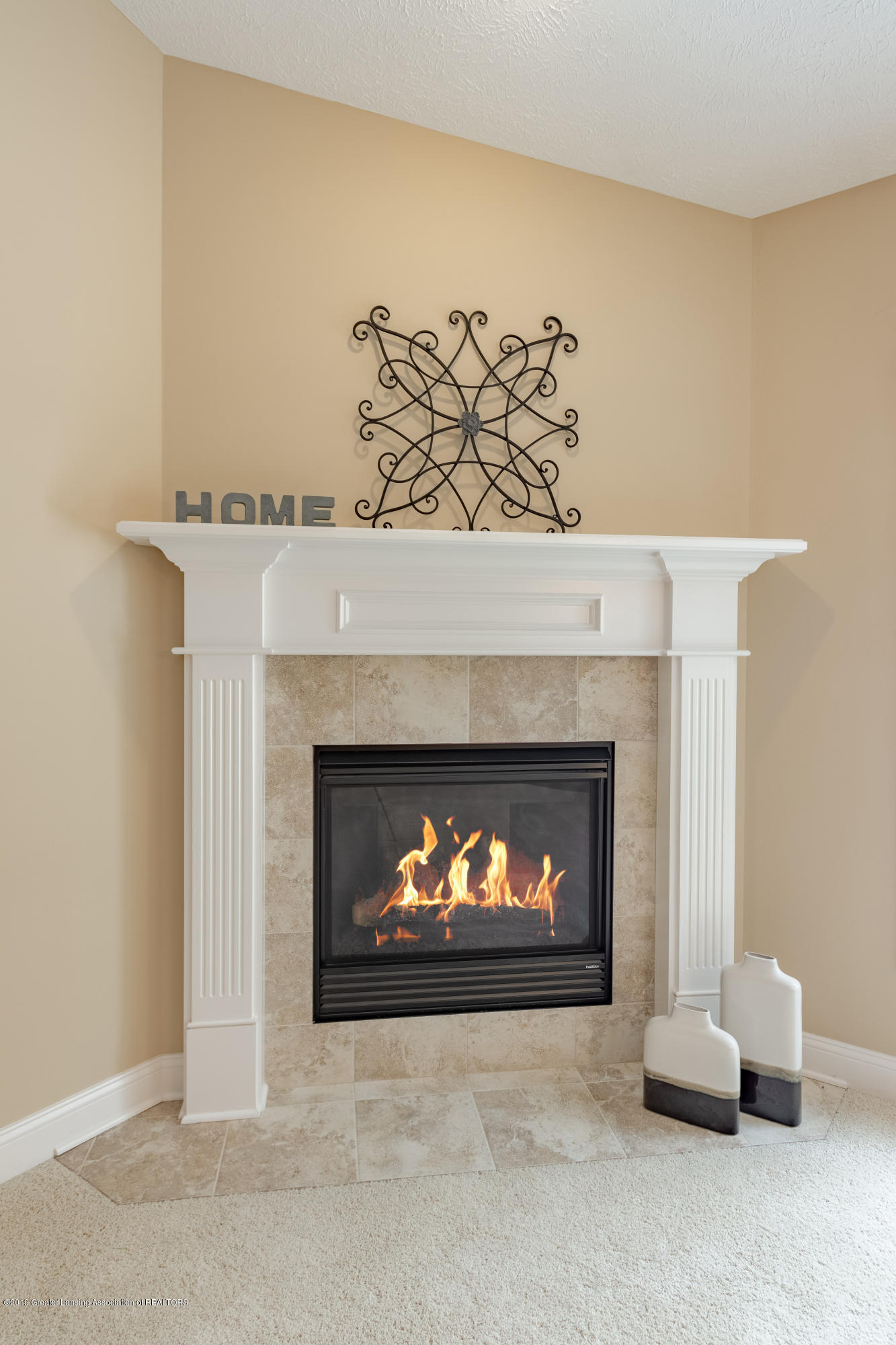 6153 Graebear Trail - Gas fireplace with wall switch - 24