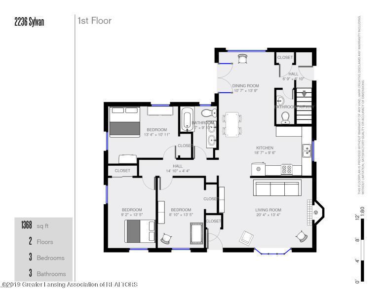2236 Sylvan Ave SE  - upstairs layout - 41