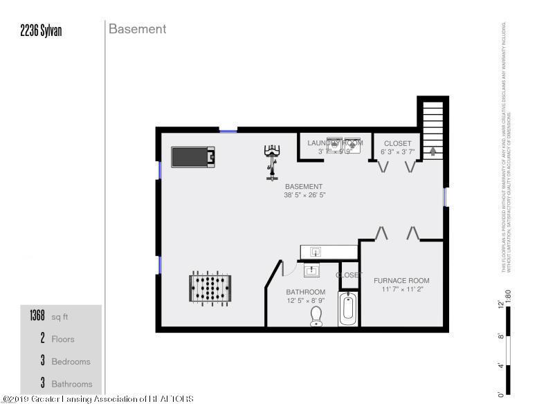 2236 Sylvan Ave SE  - downstairs layout - 42