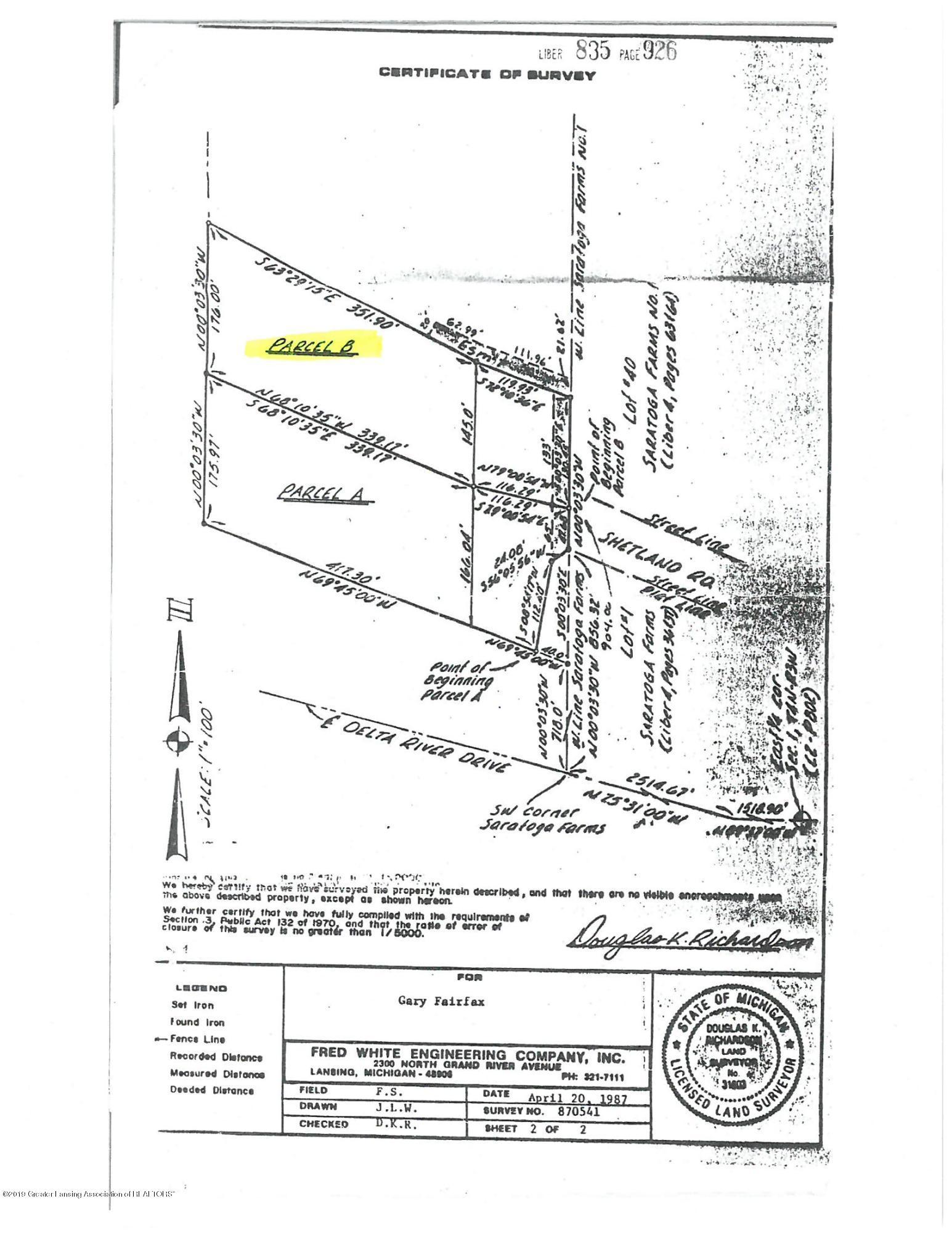 0 Barnstable Ln - Site Plan - 1